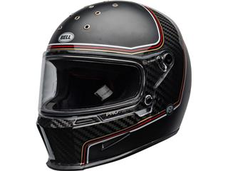 BELL Eliminator Carbon Helmet RSD The Charge Matte/Gloss Black Size L