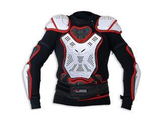 UFO Pro-Ergo Body Protector with Belt Black/White Adult Size L/XL - 990037L