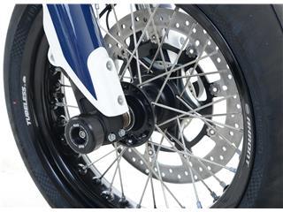 Protection de fourche R&G RACING noir Husqvarna 701 Supermoto
