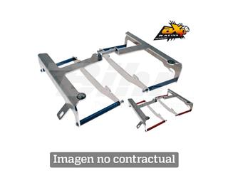 Protectores de radiador aluminio rojo AXP Honda AX3033
