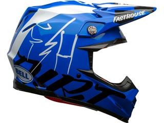 Casque BELL Moto-9 Flex Fasthouse DID 20 Gloss Blue/White taille S - 28aed3b0-8166-4ee0-bfc0-36c462b3ac0d