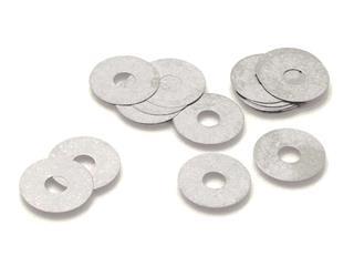 INNTECK Shims Steel 12mm ID x 42mm OD x 0.15mm THK 10pcs