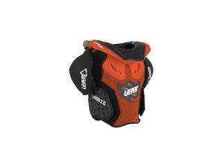 Body Vest Leatt Fusion 2.0 Junior Orange/ Size L/Xl