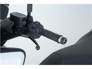 Embouts de guidon R&G RACING noir Yamaha - 4450205