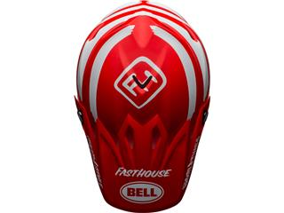 Casque BELL Moto-9 Mips Signia Matte Red/White taille L - 2a119b06-2a3b-4c3a-8c54-51b792ad2d16