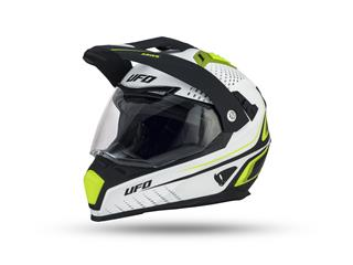 UFO Aries Helmet White/Black Size S - 801001480269