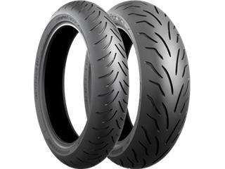 BRIDGESTONE Tyre BATTLAX SCOOTER FRONT 90/80-14 M/C 49P TL
