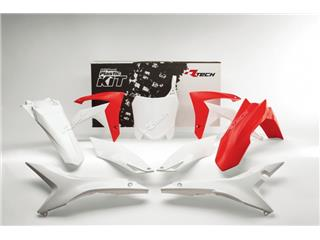RACETECH Plastic Kit OEM Color Red/White Honda CRF250/450R