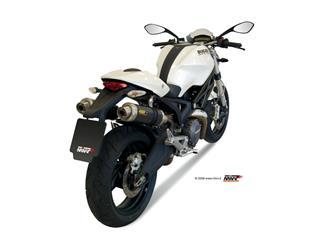Silencieux double MIVV GP carbone Ducati Monster 696