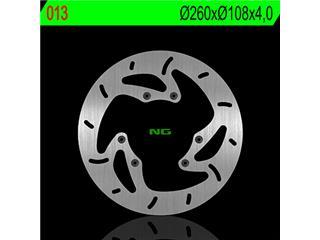 Disque de frein NG 013 rond fixe - 350013