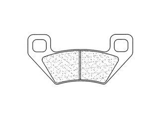 Plaquettes de frein CL BRAKES 1171X59 métal fritté - 271171X59