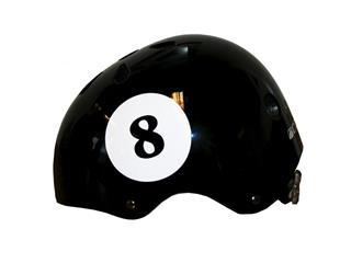 HELMET CAVO Jump BLACK EIGHTBALL MEDIUM/56-58CM