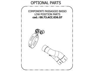 Kit de rabaissement d'échappement MIVV BMW S1000 XR