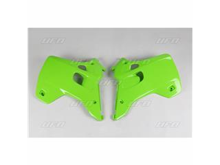 Ouïes de radiateur UFO vert Kawasaki KX125/250 - 78234142