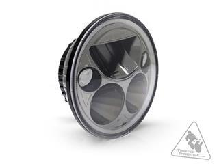 DENALI M5 LED Headlight Ø145mm Black Chrome - 2bb3f7d6-7e8e-4352-82b7-b806c263710a