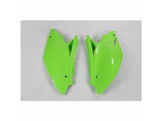 Plaques latérales UFO vert KX Kawasaki KX250F - 78228042