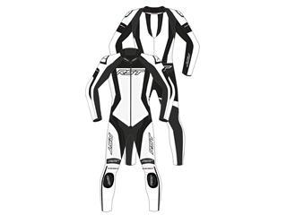 RST Tractech EVO 4 CE Race Suit Leather White Size XXL Men