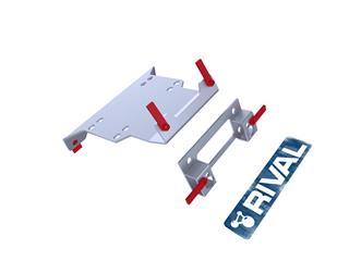 RIVAL Winch Mounting Kit Polaris RZR XP1000/Turbo - 2c9fbf68-5a51-4fd5-b5b7-357f0b24b86e