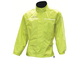 Oxford Rain Jacket in Fluorescent Yellow, size L
