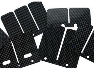 Clapets carbone Tecnium Yamaha RD500 (1 paire)