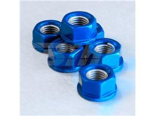 Tuerca de corona 10mm x 1,25 (6 pack) Aluminio azul Pro-Bolt SPN10B