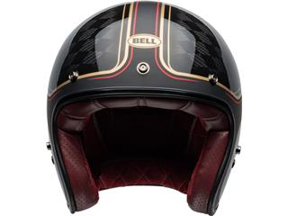 Capacete Bell Custom 500 Carbon RSD CHECKmate Preta/Dourada, Tamanho XS - 2d0194c4-826d-44f9-8dab-5c1aecbabcaa