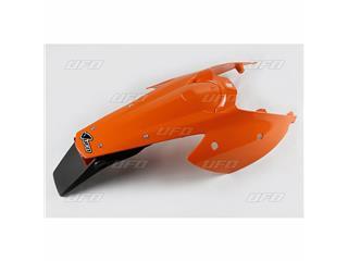 Garde-boue arrière + support de plaque avec feu UFO orange KTM EXC