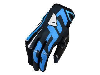 UFO Blaze Gloves Black/Blue Size 8