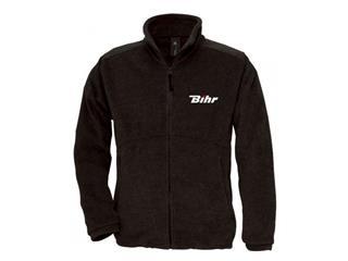 zip up BIHR black S size fleece jacket - 980701S