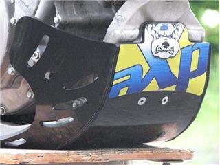 AXP GP HDPE Skid Plate Black Suzuki RM-Z250