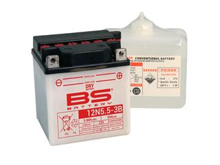 BS BATTERY Battery 12N5.5A-3B Conventional with Acid Pack