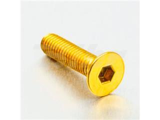 Tornillo de Aluminio Pro-bolt avellanado M6 x (1.00mm) x 25mm oro LCS625G