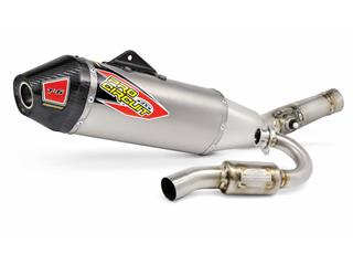 Pro Circuit T-6 Euro full exhaust System stainless steel/muffler titanium  KTM SX-F/XC-F250