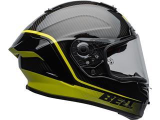 BELL Race Star Flex DLX Helmet Velocity Matte/Gloss Black/Hi Viz Size XXL - 2e32559a-a527-42aa-a20f-da830896b366