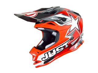 JUST1 J32 Helmet Moto X Red Size S - 430171S