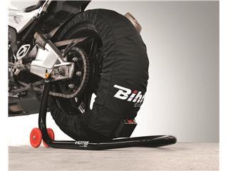 BIHR Home Track EVO2 Programmable Tire Warmer Black Front Tire 120mm