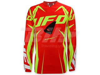 Camiseta UFO Element rojo/amarillo talla XL