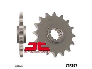 JT SPROCKETS Front Sprocket 15 Teeth Steel Standard 525 Pitch Type 297 Honda