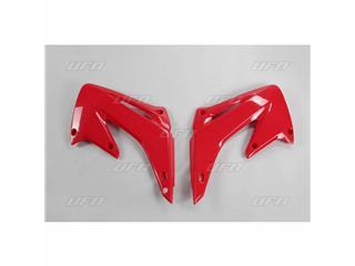 Ouïes de radiateur UFO rouge Honda CR125R/250R - 78134131
