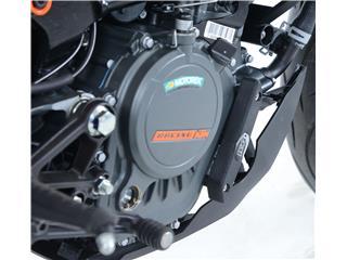 Slider moteur droit R&G RACING noir KTM Duke 125