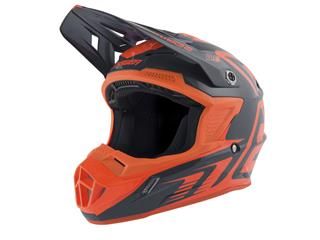 ANSWER AR1 Edge Helmet Charcoal/Neon Orange Size L