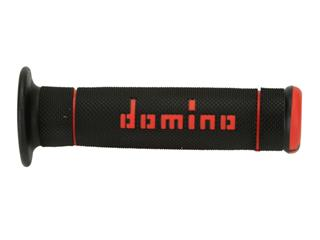 DOMINO Trial Full Diamond Grips Black/Red
