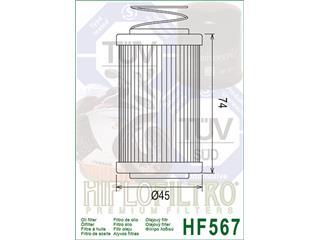 HIFLOFILTRO HF567 Oil Filter Mv Agusta