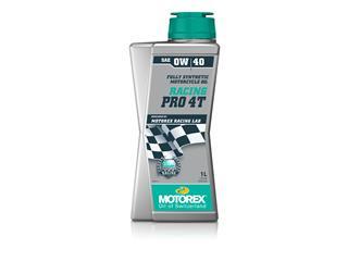 Huile moteur MOTOREX Racing Pro 4T 0W40 synthétique 1L