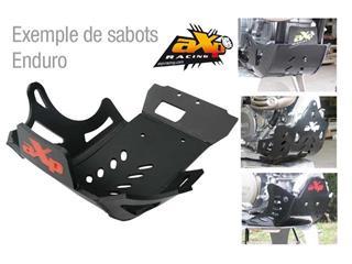 AXP Enduro HDPE Skid Plate Black KTM EXC-F350