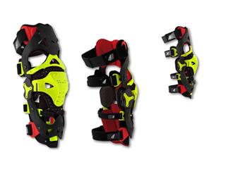 UFO Morpho Fit Knee Brace Red/Neon Yellow Size L/XL
