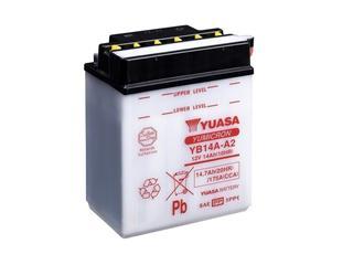 Batterie YUASA YB14A-A2 conventionnelle