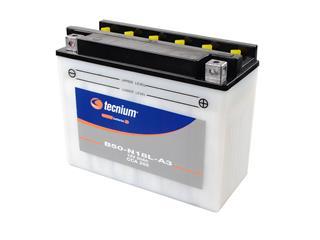 Batterie TECNIUM B50-N18L-A3 conventionnelle livrée avec pack acide - 329835
