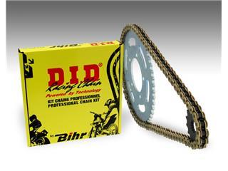 Kit chaîne D.I.D 520 type DZ2 13/49 (couronne ultra-light anti-boue) Suzuki RM-Z250 - 482551
