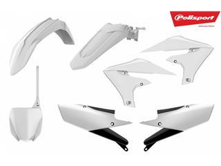 Kit plastique POLISPORT blanc Yamaha YZ450F - 790742WH